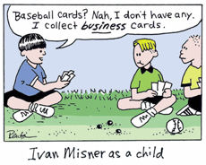 The Case of the Disappearing Business Cards