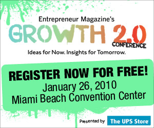 Entrepreneur Magazine's Growth 2.0 Conference