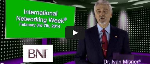 New International Networking Week® Video for 2014