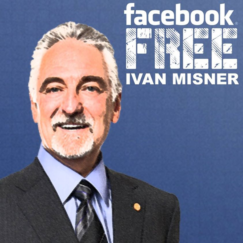 Hey, Facebook, Free Ivan Misner!