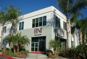 BNI's Current Headquarters Building in Southern California