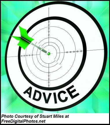A Little Good Advice Can Go a Long Way
