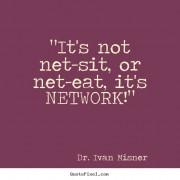 It's not net-sit