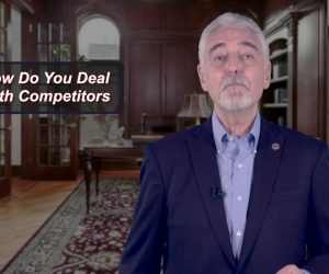deal with competitors