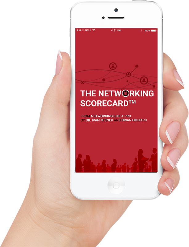 Network on the Go with the - Networking Like a Pro - Networking Scorecard Beta App