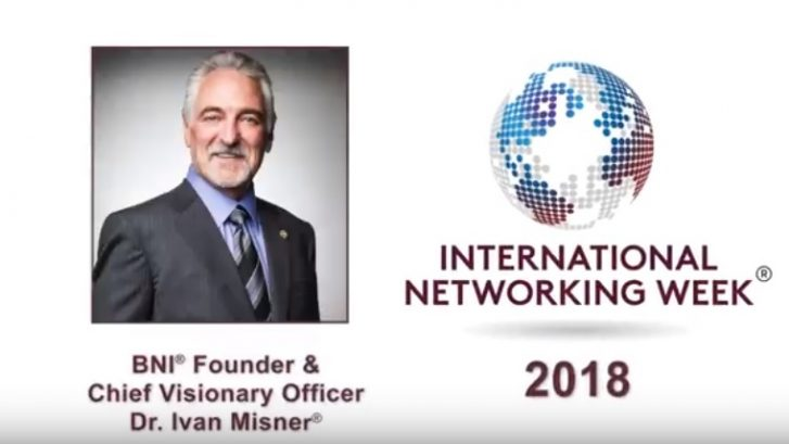 2018 International Networking Week®