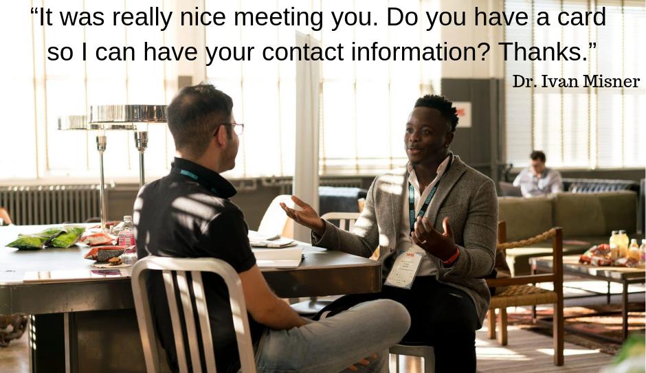 end a conversation